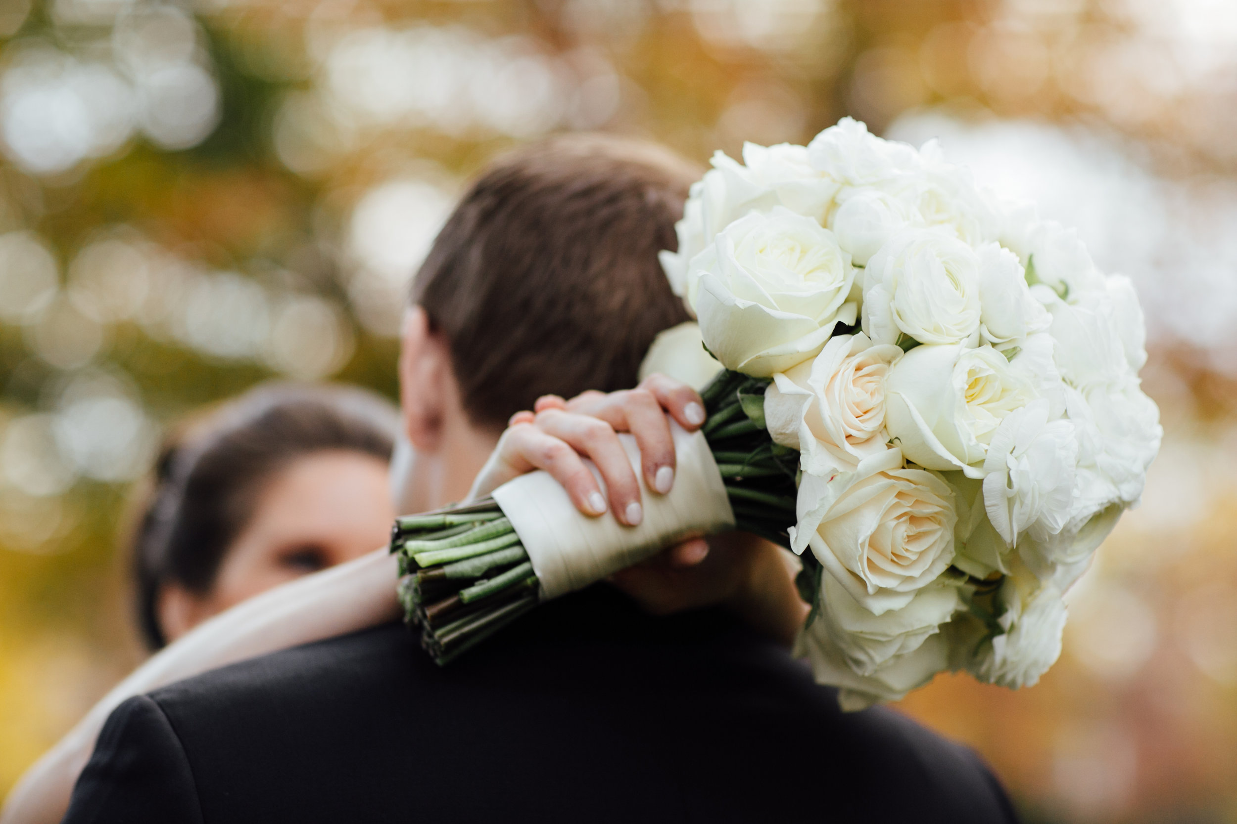 Bride's bouquet at Meridian House in DC - Maria Vicencio Photography Weddings