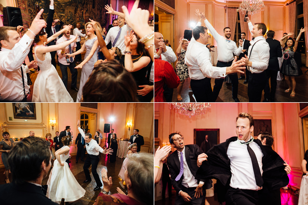 Dancing at the reception at Meridian House in DC - Maria Vicencio Photography Weddings