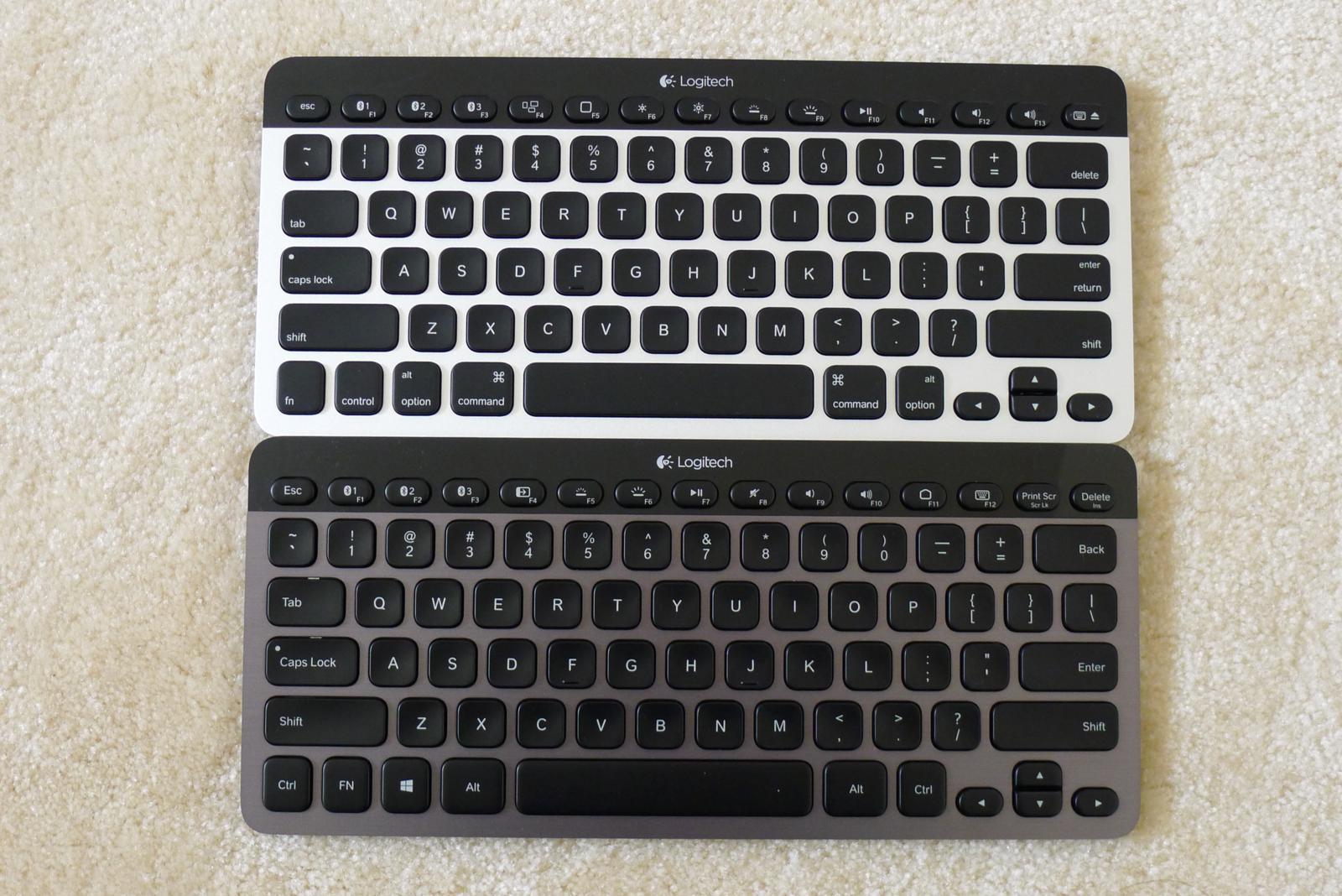 Logitech Bluetooth Illuminated Keyboard K810 and Bluetooth