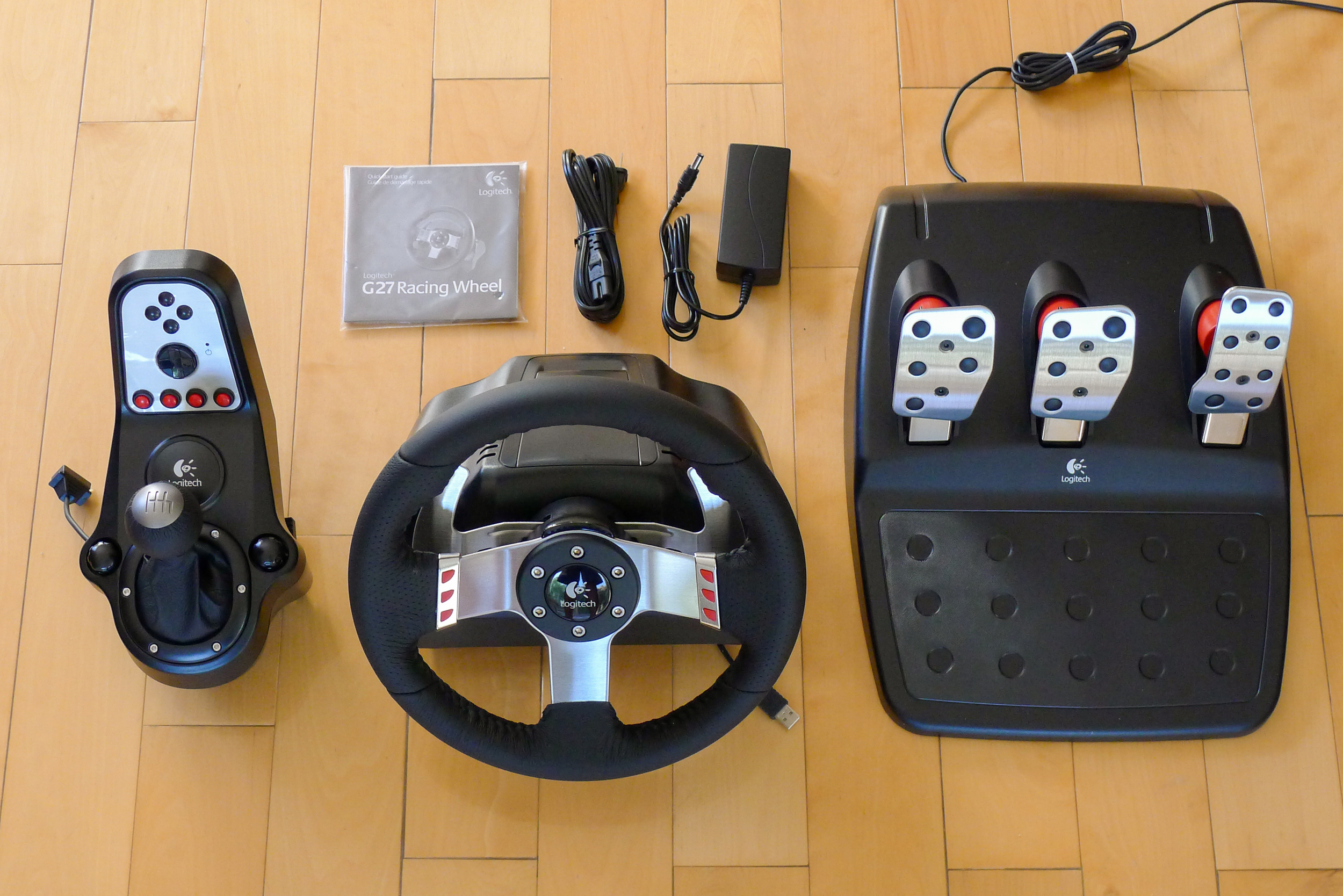 Logitech G27 racing wheel review - jason tsay