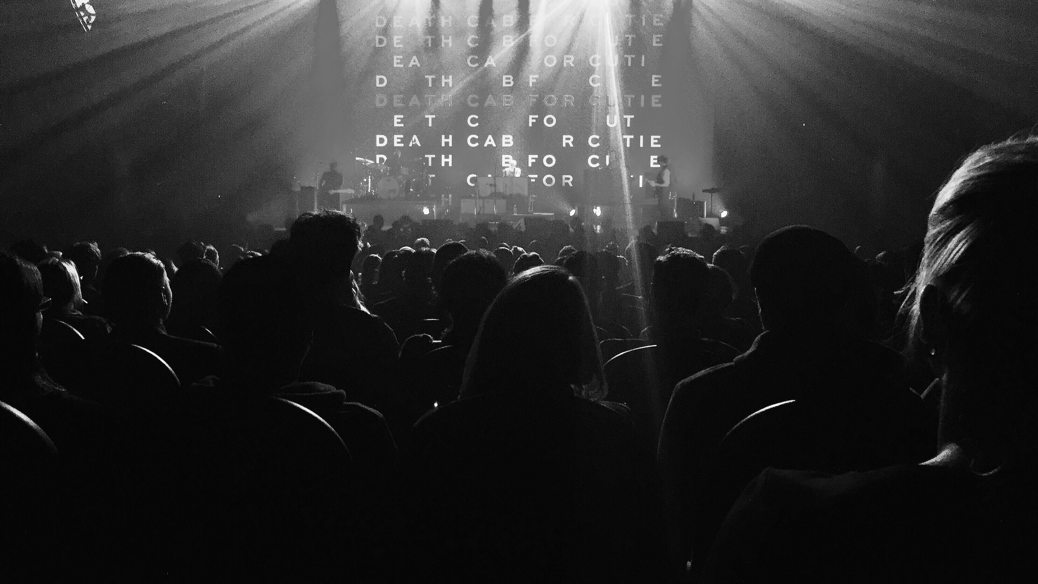 I took this audience shot at a recent Death Cab for Cutie and Metric concert I went to.(click image to enlarge)