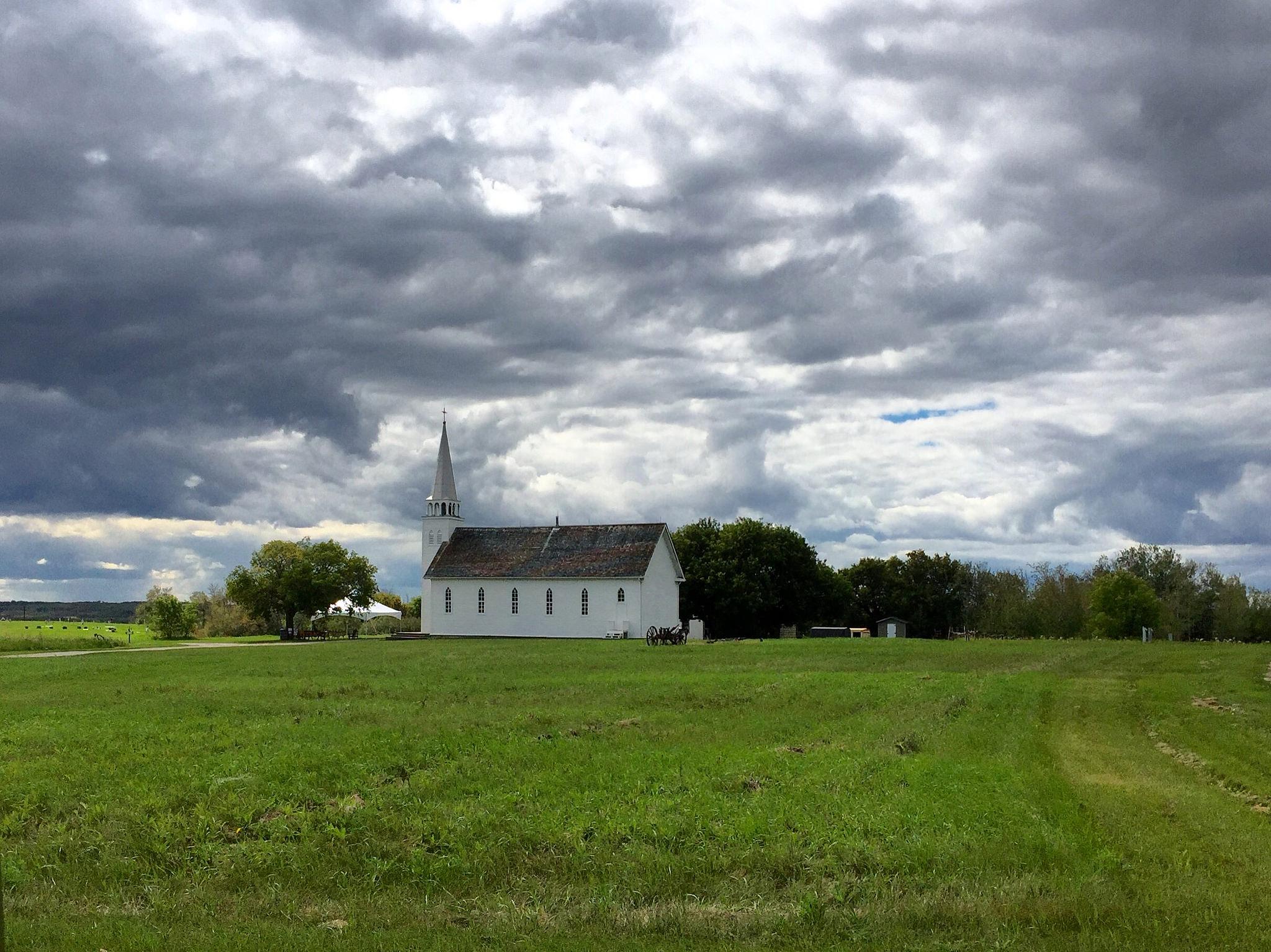 the church at Batoche