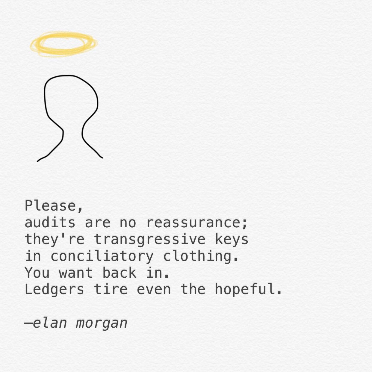 Elan Morgan Instagram poetry