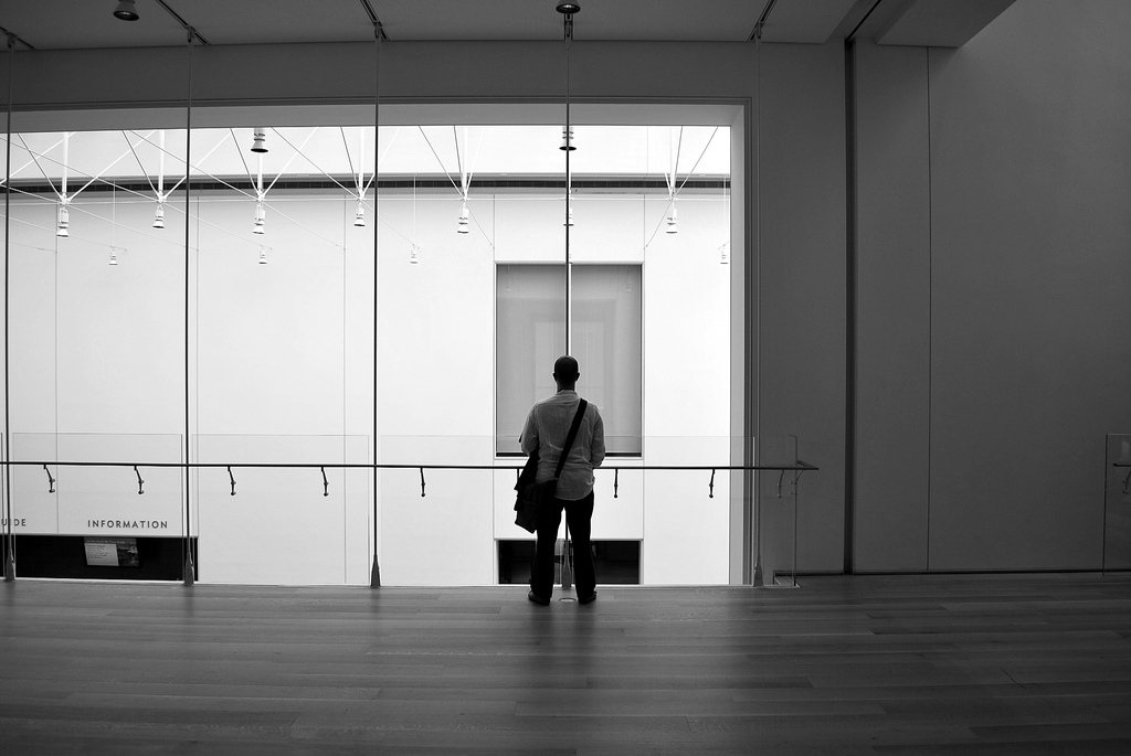 I took this picture of Aidan at the Art Institute of Chicago, and it wasn't in Taiwan.
