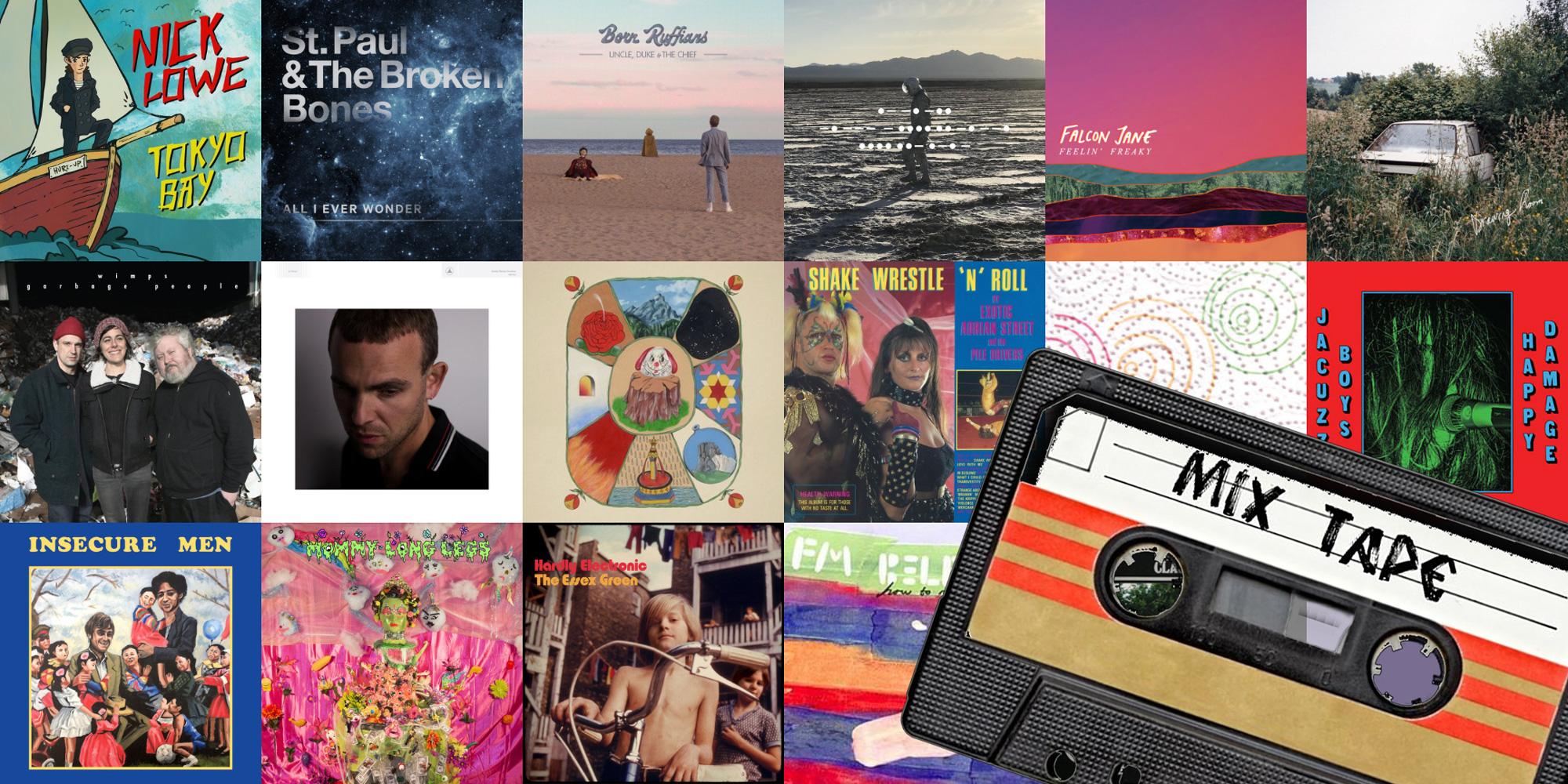 Elan's September 2018 Mixtape album covers