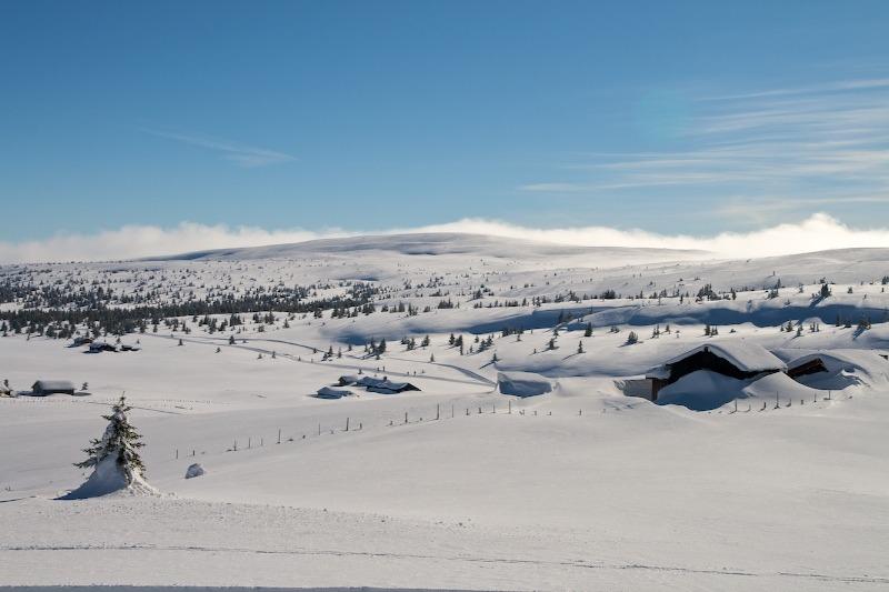 Vinterstemning i Hafjell