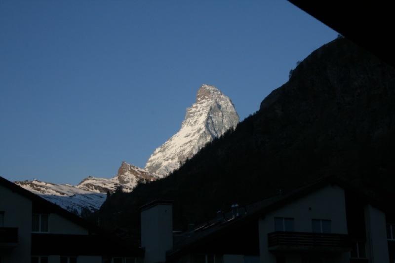 Matterhorn sett fra Zermatt