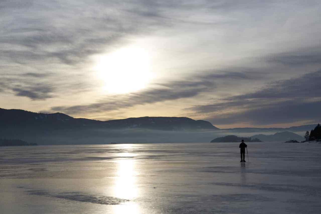 Steinsfjorden i Buskerud