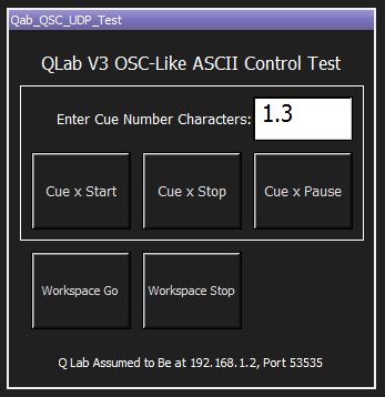 Qlab Loop Cues