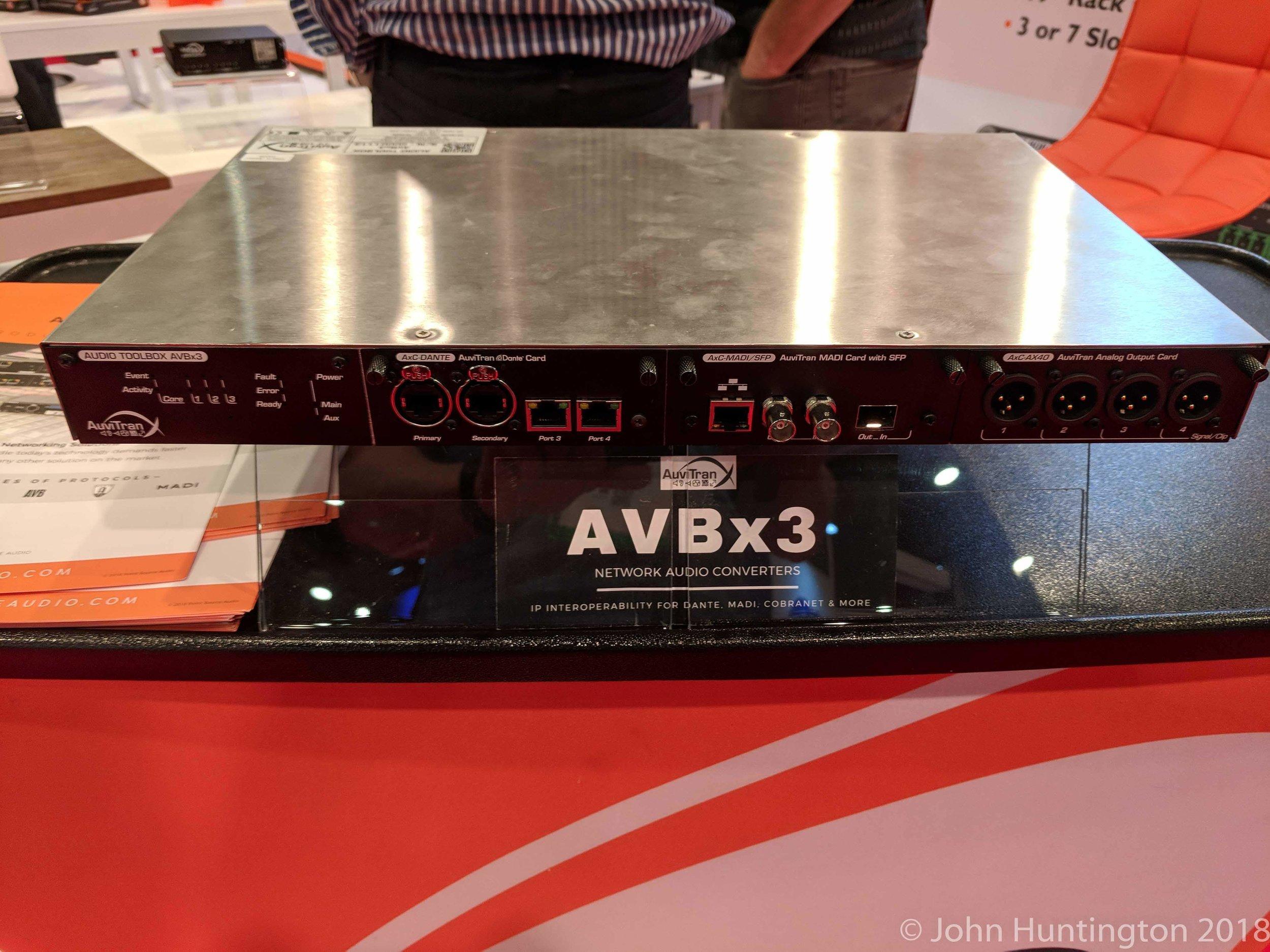 Audinate's Dante (and SDVOE?), AVB/TSN and AES67: An Audio