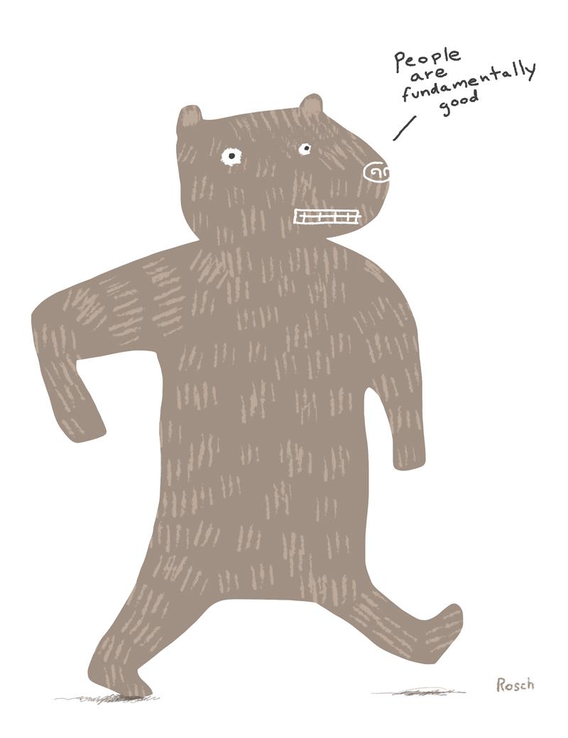 Naive Bear (I am a naive bear)