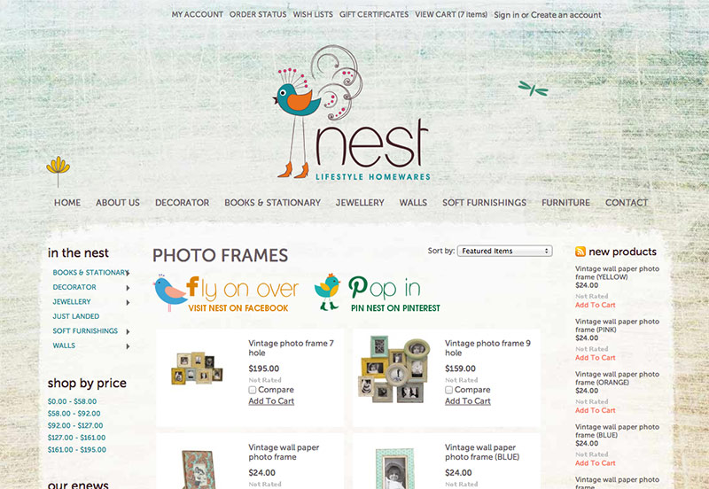 nest Lifestyle Homewares