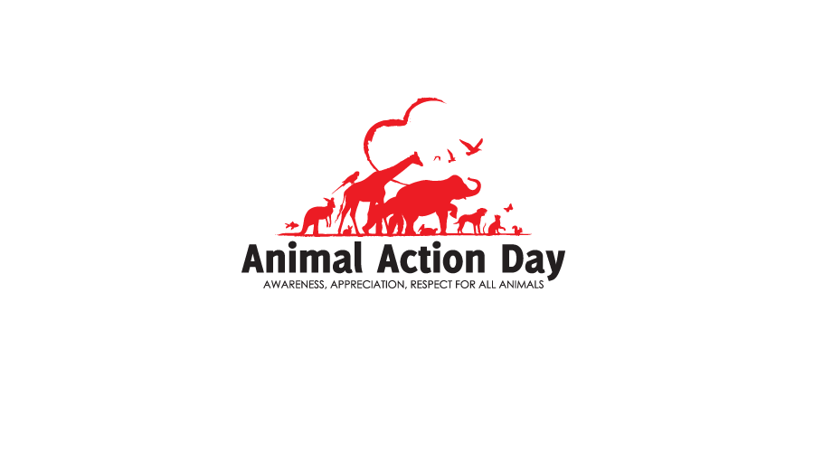 Animal Action Day Logo / Brand Design