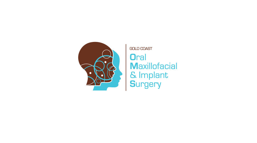 Gold Cost Oral maxillofacial & implant surgery Logo / Brand Design