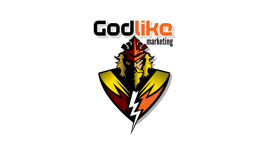Godlike Marketing Logo / Brand Design