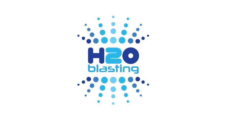 H2O BlastingLogo / Brand Design