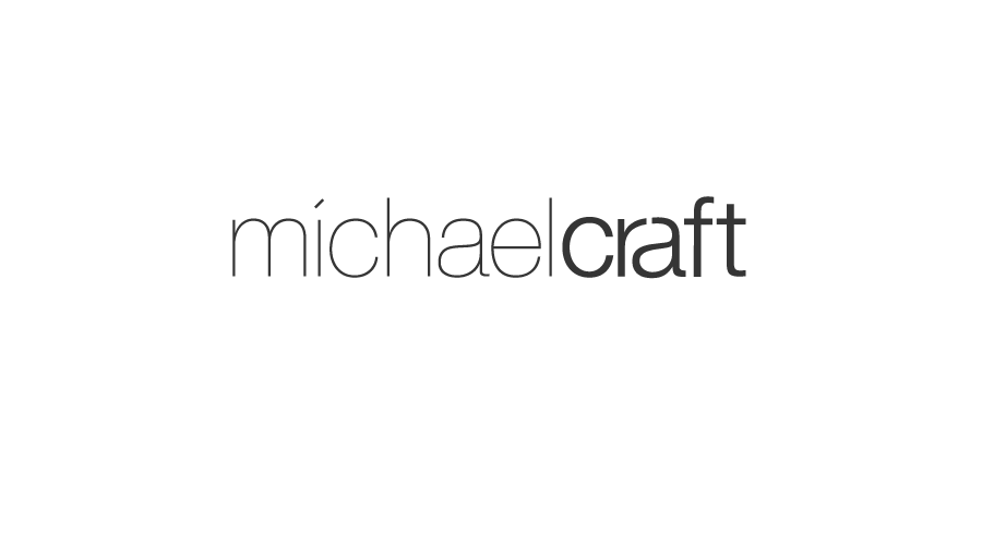 Michael Craft Logo / Brand Design