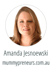 Amanda Jesnoewski - Adventures and Misadventures of a Mummypreneur