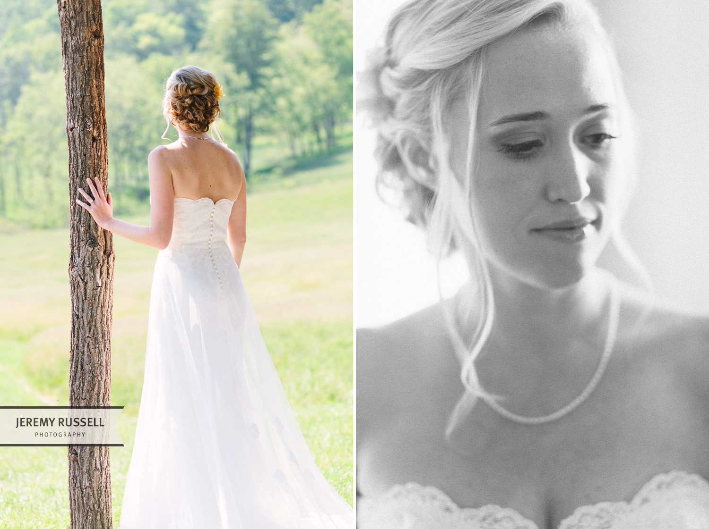 Bride at Claxton Farm
