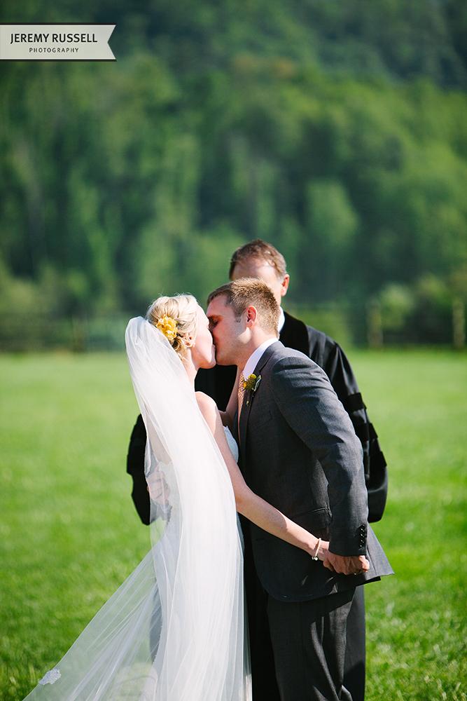 Kiss at Claxton Farm