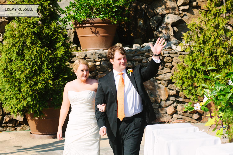 Wedding reception at Grove Park Inn