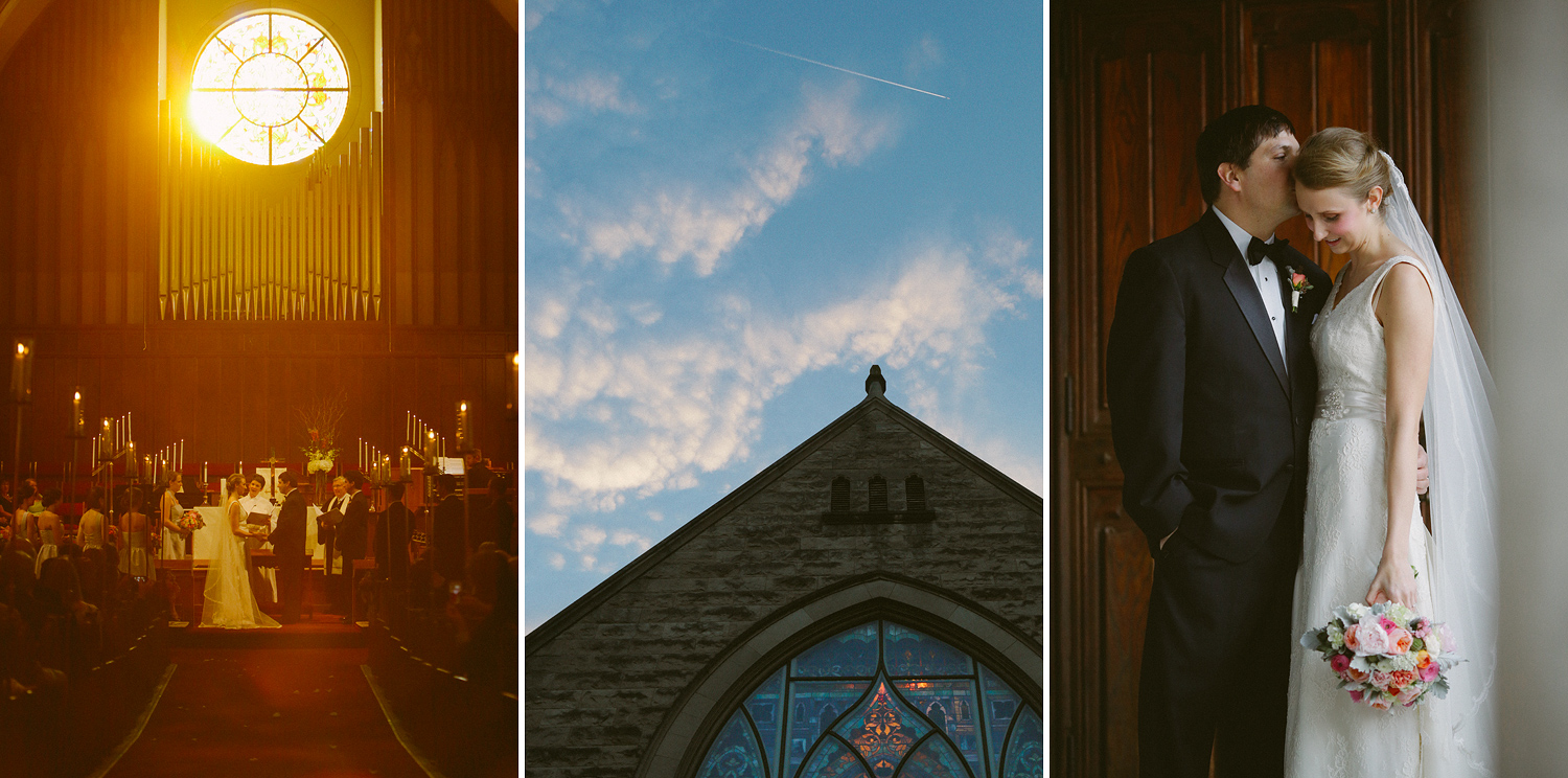 Downtown Asheville wedding and reception