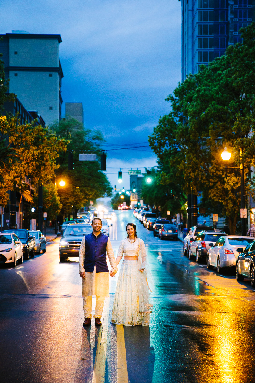 Indian Wedding in Downtown Asheville