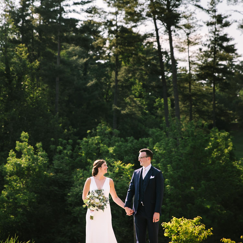 Omni Grove Park Inn Bride and Groom