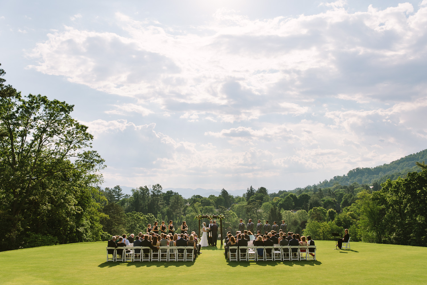 Country Club of Asheville Wedding Ceremony