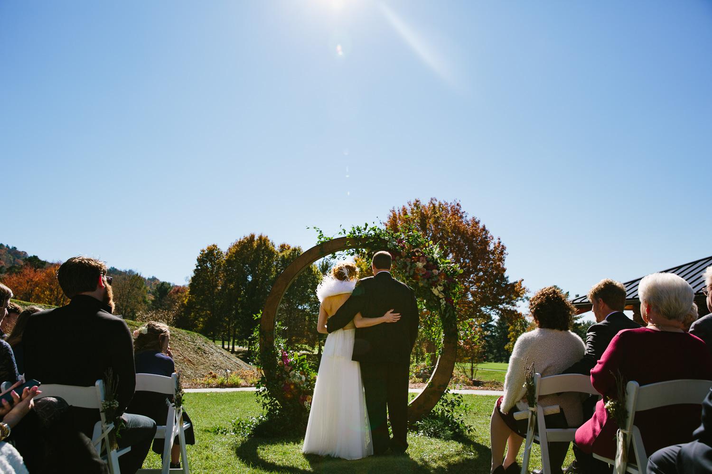 Wedding Ceremony at the Omni Grove Park Inn