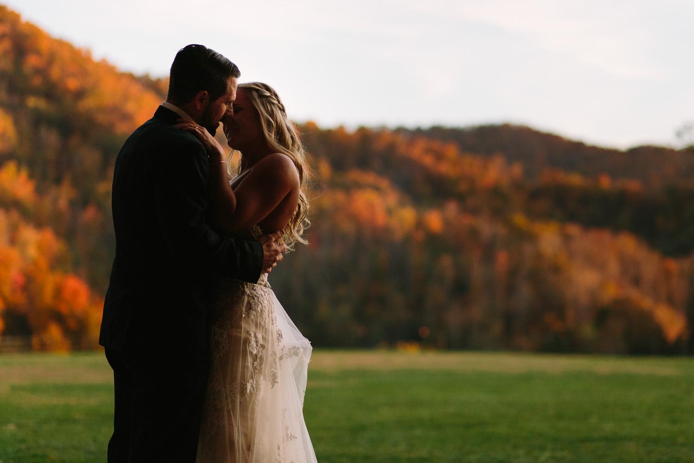 Fall Wedding at Claxton Farm