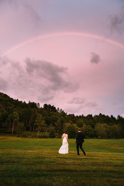 Lonesome Valley Wedding Rainbow