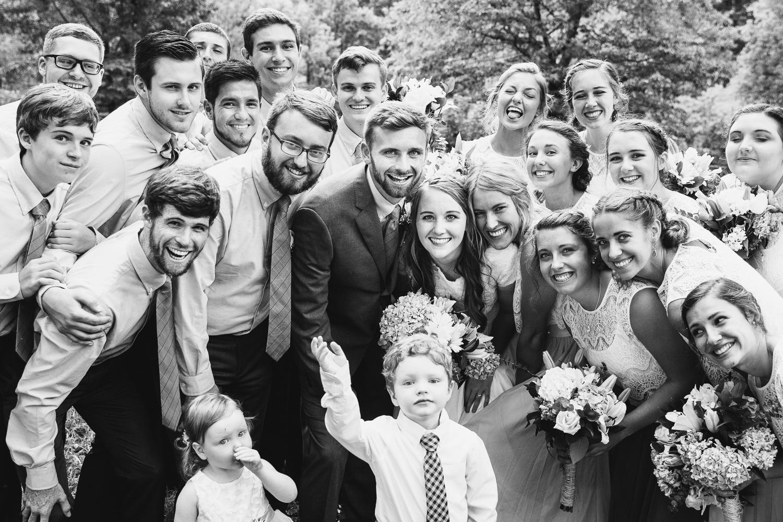 Wedding Party Fun Group