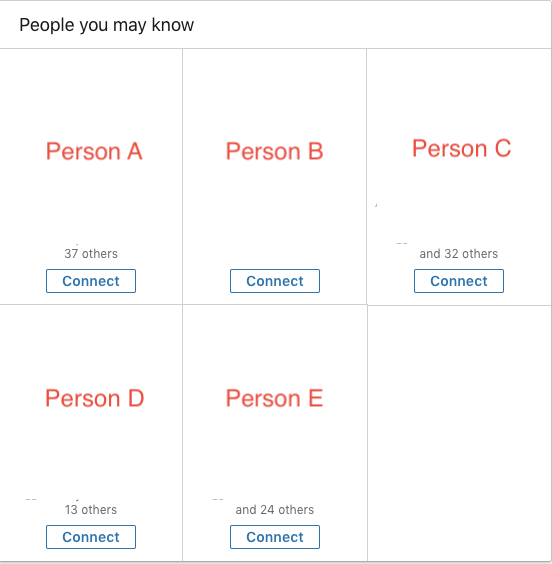 People You May Know (PYMK) Upon Page Load