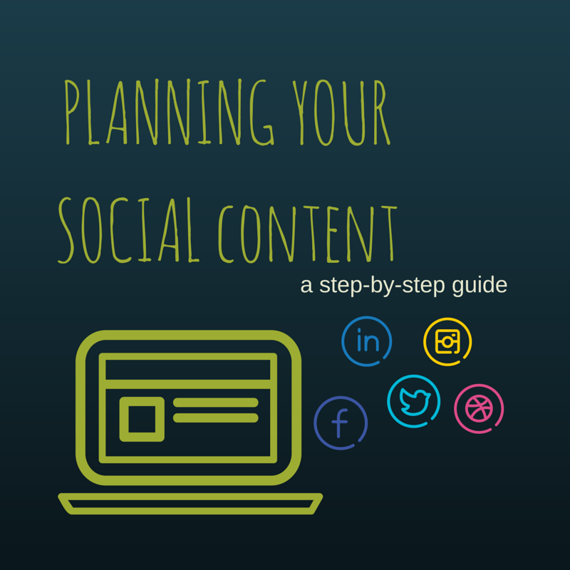 planning your social content