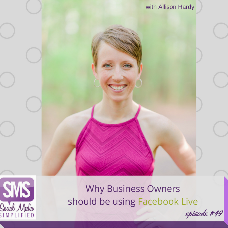 Facebook Live for the business owner