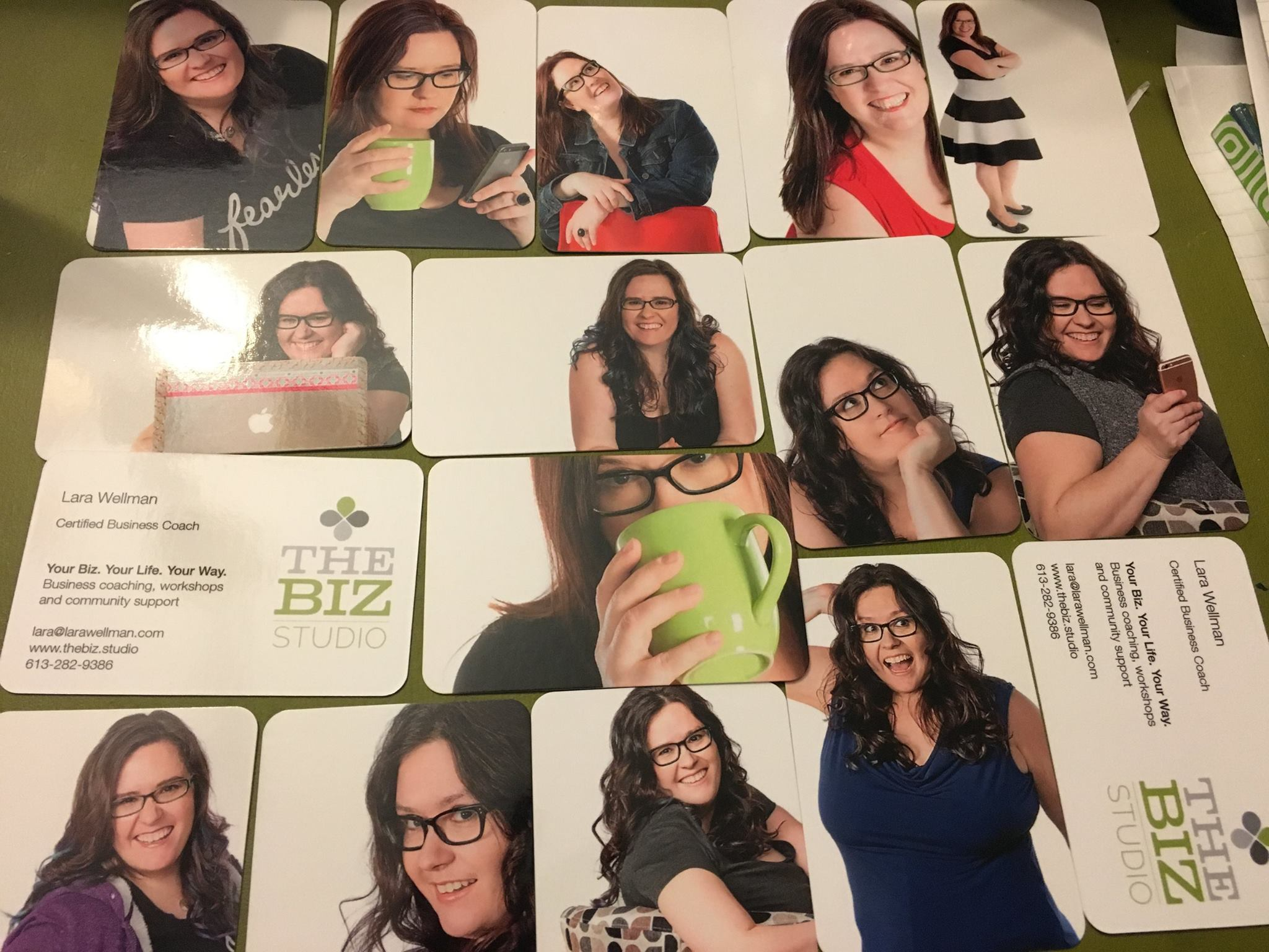 I love my Moo business cards!