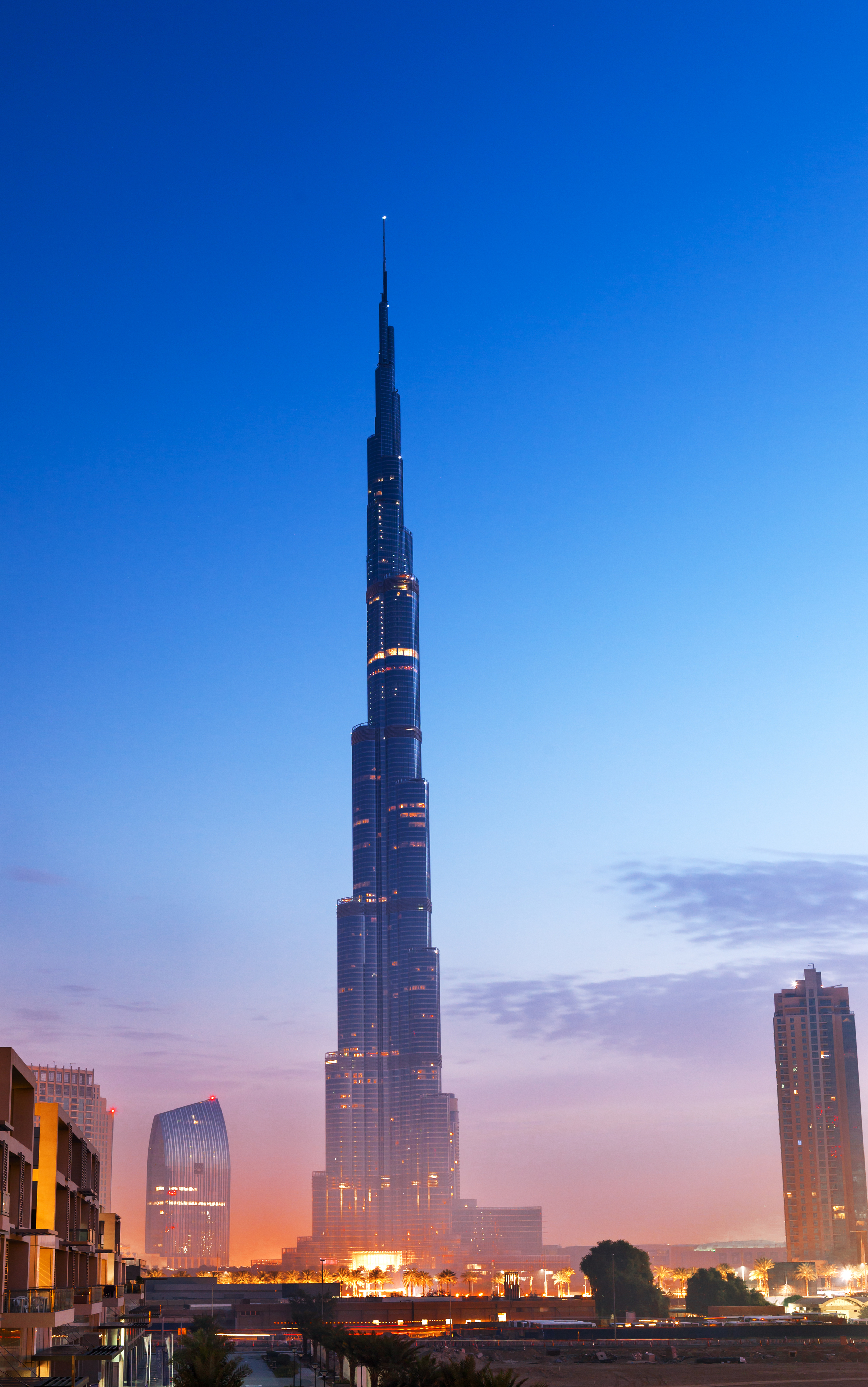 The way of the future? The Burj Khalifa in Dubai