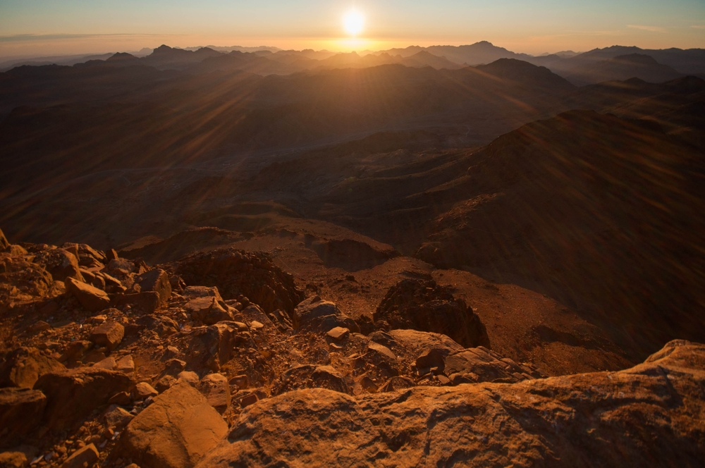 Photo of central Sinai courtesy of  Shutterstock