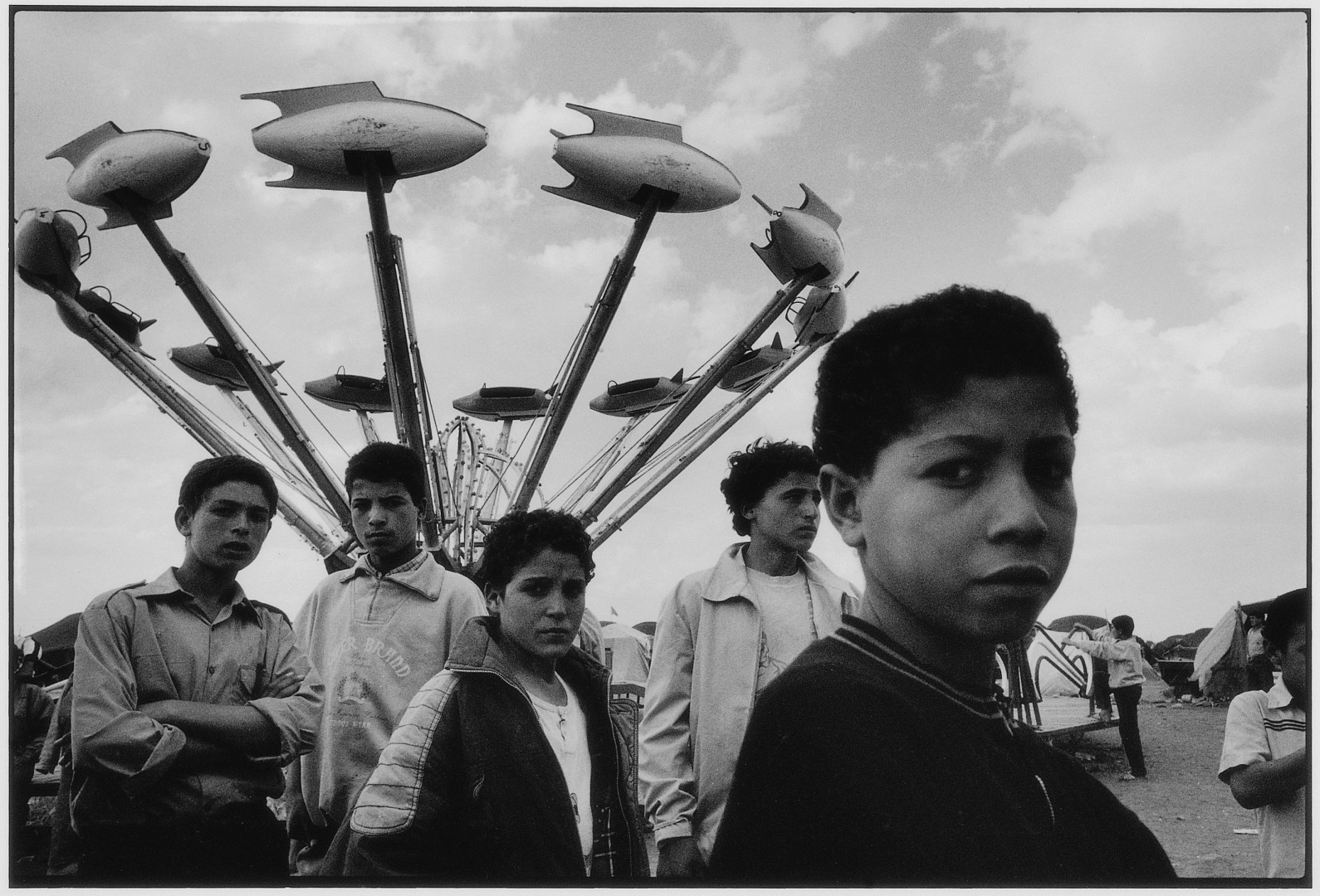 THE PHOTOGRAPHY Of DAOUD AOULAD SAID. THIS IMaGE Isn't in the museum, but many other riveting ones are