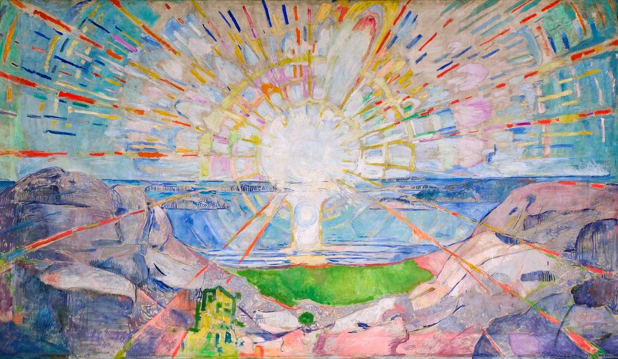 EDVARD MUNCH - SOLEN , 1912