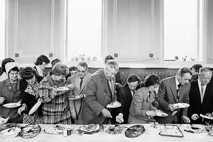 Martin Parr- Mayor of Todmorden's inaugural banquet, Todmorden, West Yorkshire, England, 1977 .jpg