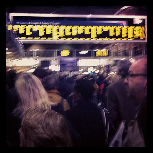 Taken at Liverpool Street Railway Station (LST)