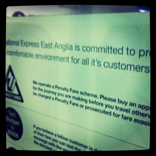 Taken at London Fields rail Station