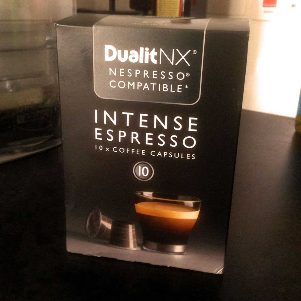 Dualit Intense Espresso coffee pods