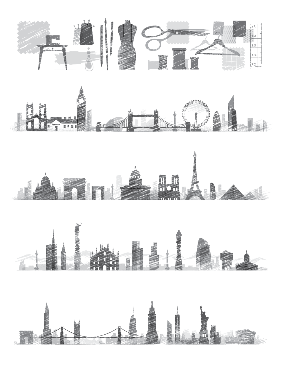 Emerging Designers, London, Paris, Milan, NYC (click for bigger view)