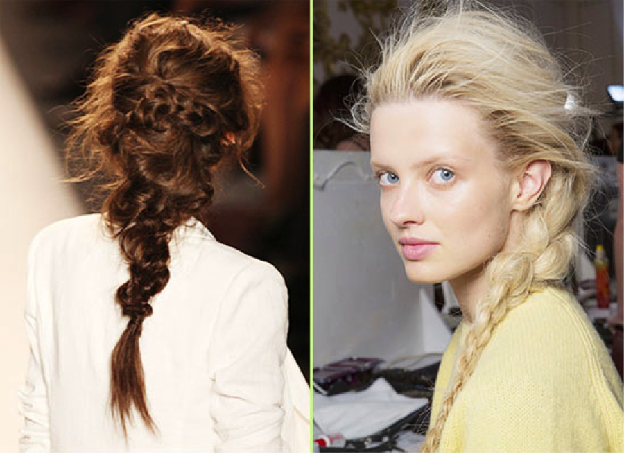 1. The Textured Braid Accents - Via Blog VP Fashion