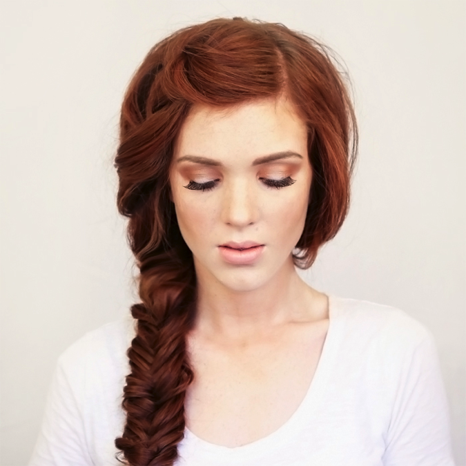 5. The Boho Side Braid - (Via Wonder Forest)