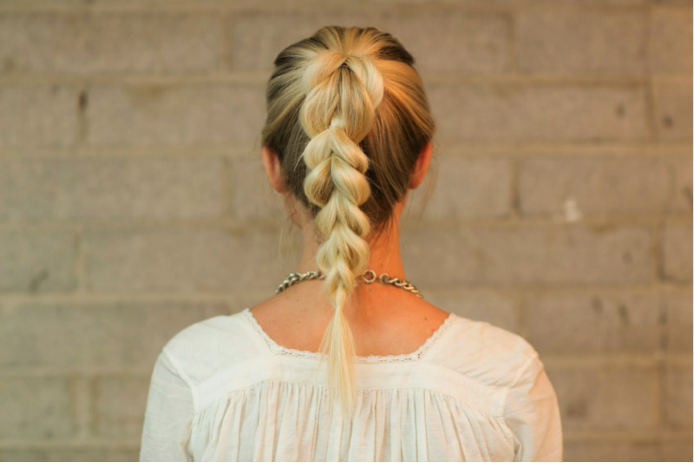 8. The Loop Di Loop Braid - (Via Confessions Of A Hairstylist).