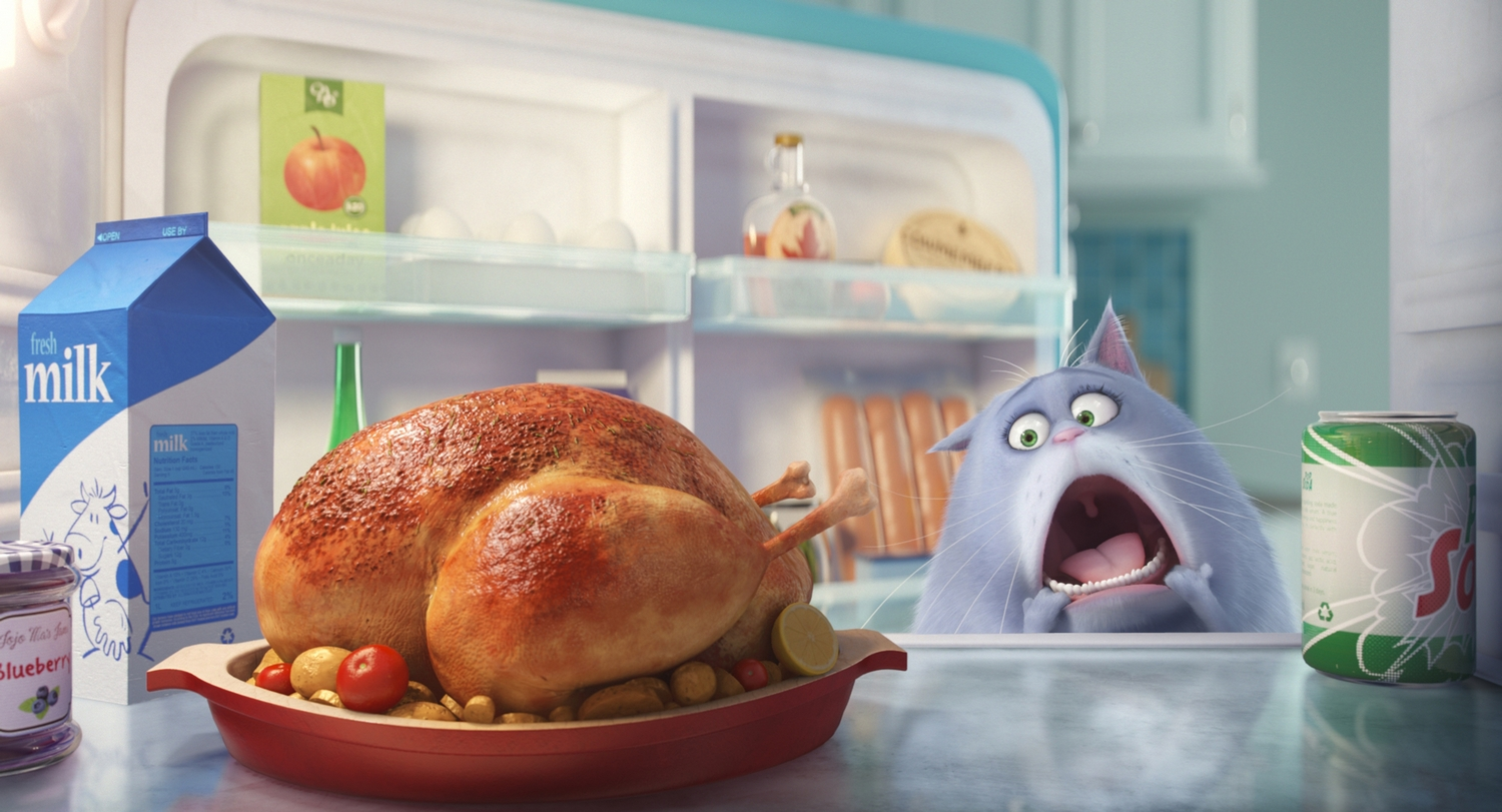 """Chloe (LAKE BELL) is a fat cat who can't be bothered, unless you have food, in Illumination Entertainment and Universal Pictures' """"The Secret Life of Pets,"""" a comedy about the lives our pets lead after we leave for work or school each day."""